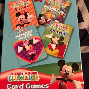 Other - Disney playing cards